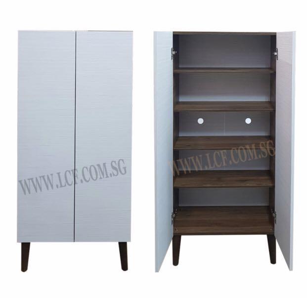 2 door  shoe cabinet