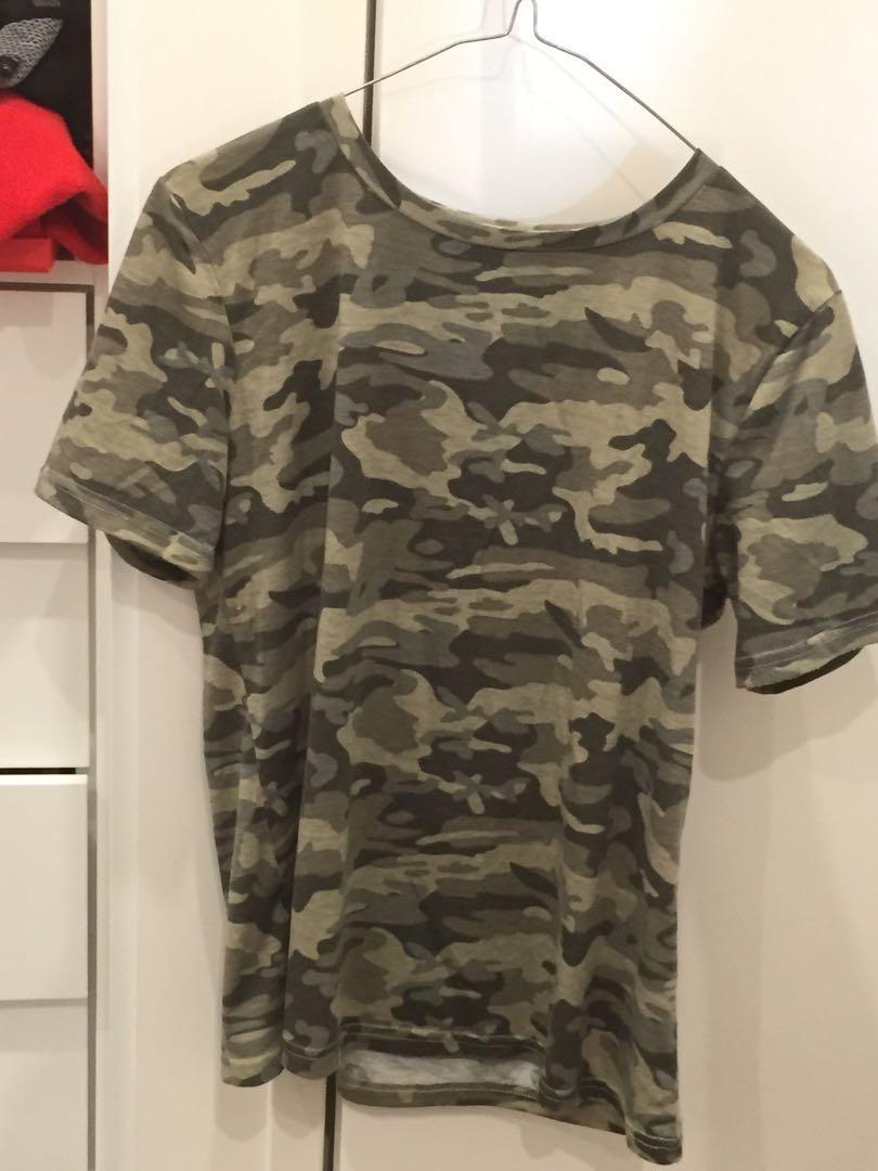 $5 Camo Shirt