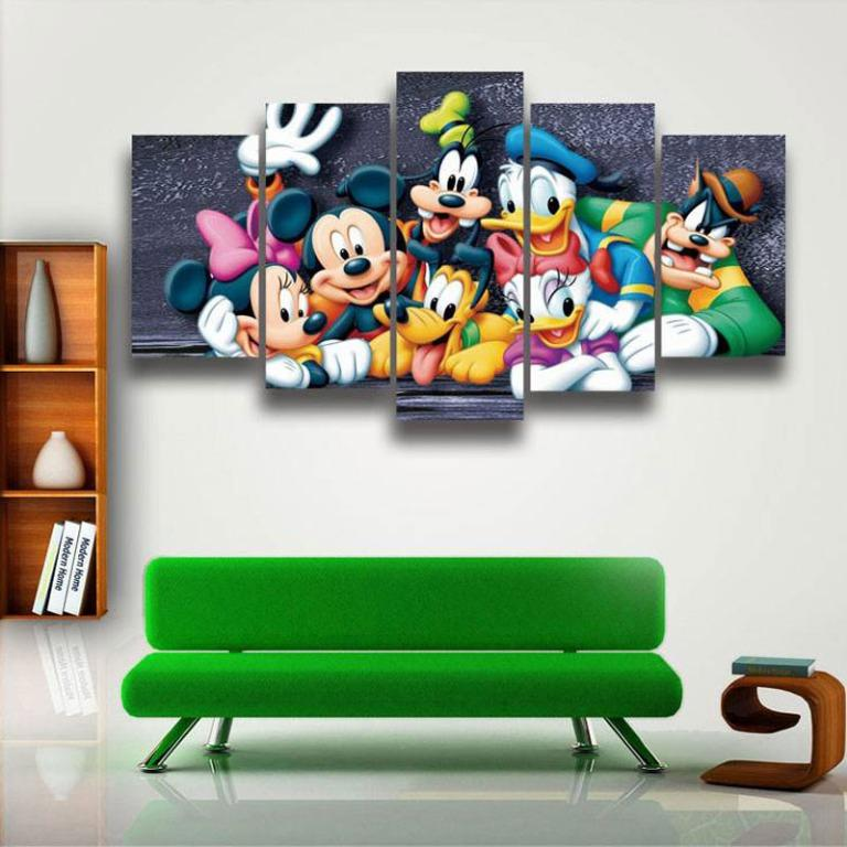 5 Panel Mickey Mouse & Friends😊