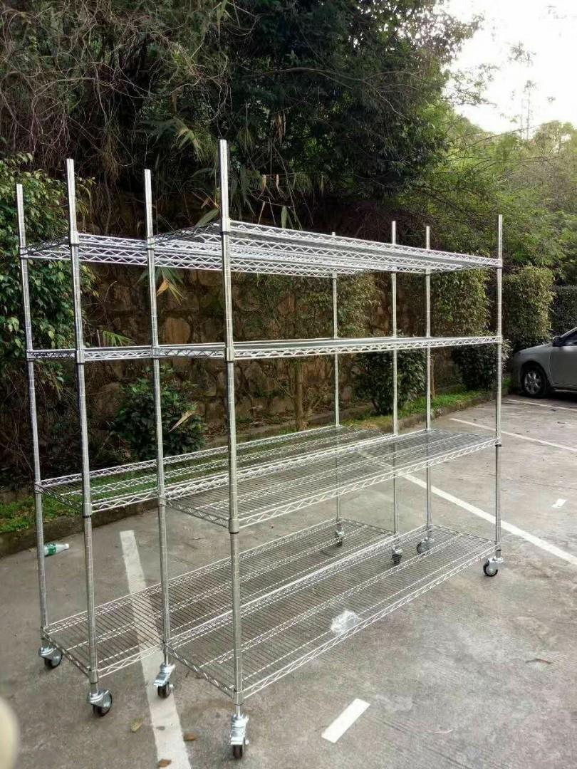 香港線網貨架鍍鉻層貨架屯門觀塘貨架