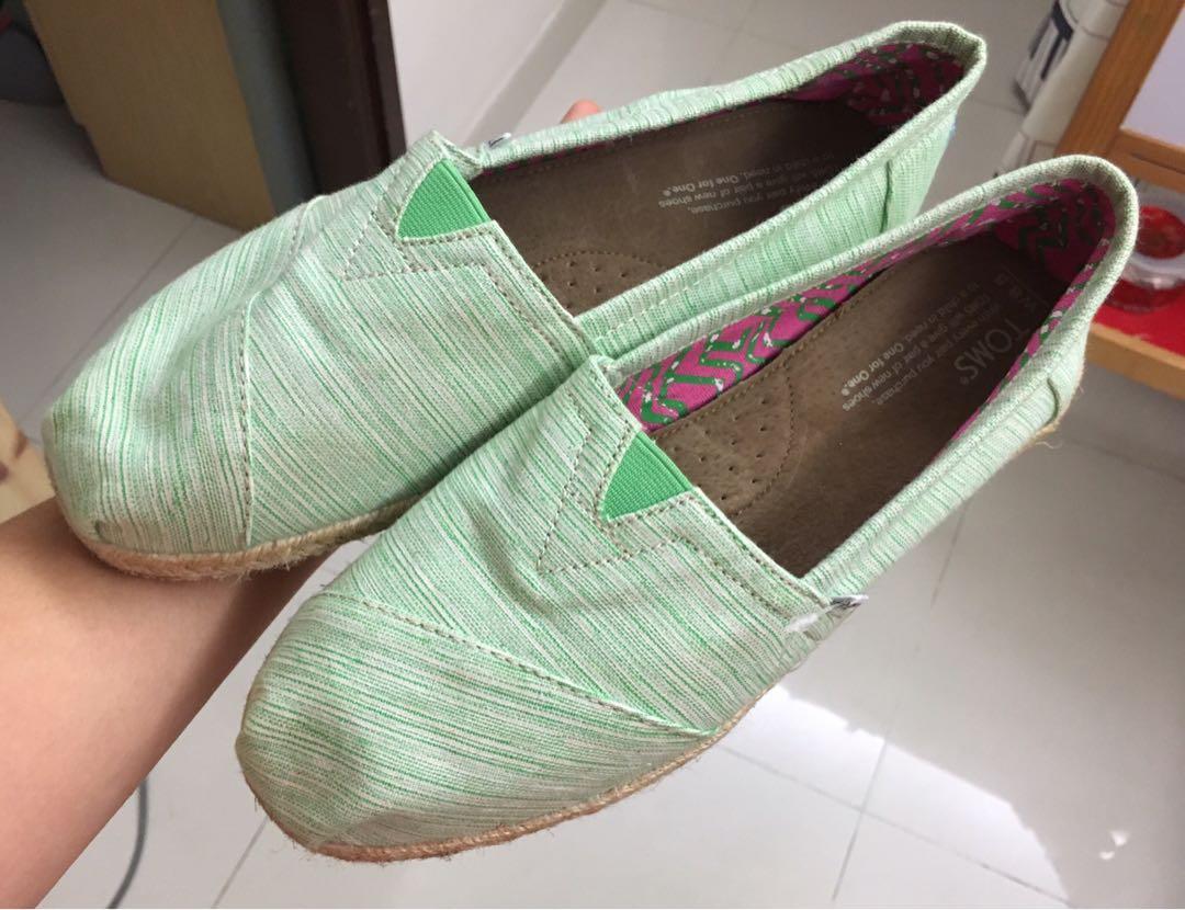 湖水綠色便鞋