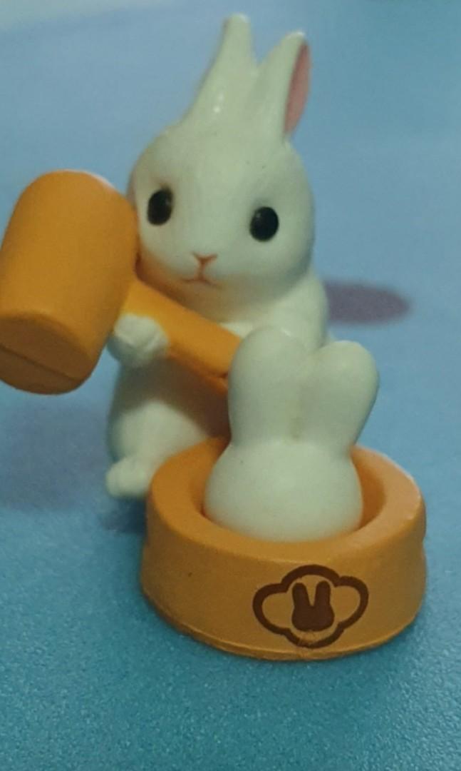 兔子_搗年糕之兔~扭蛋小物_轉蛋