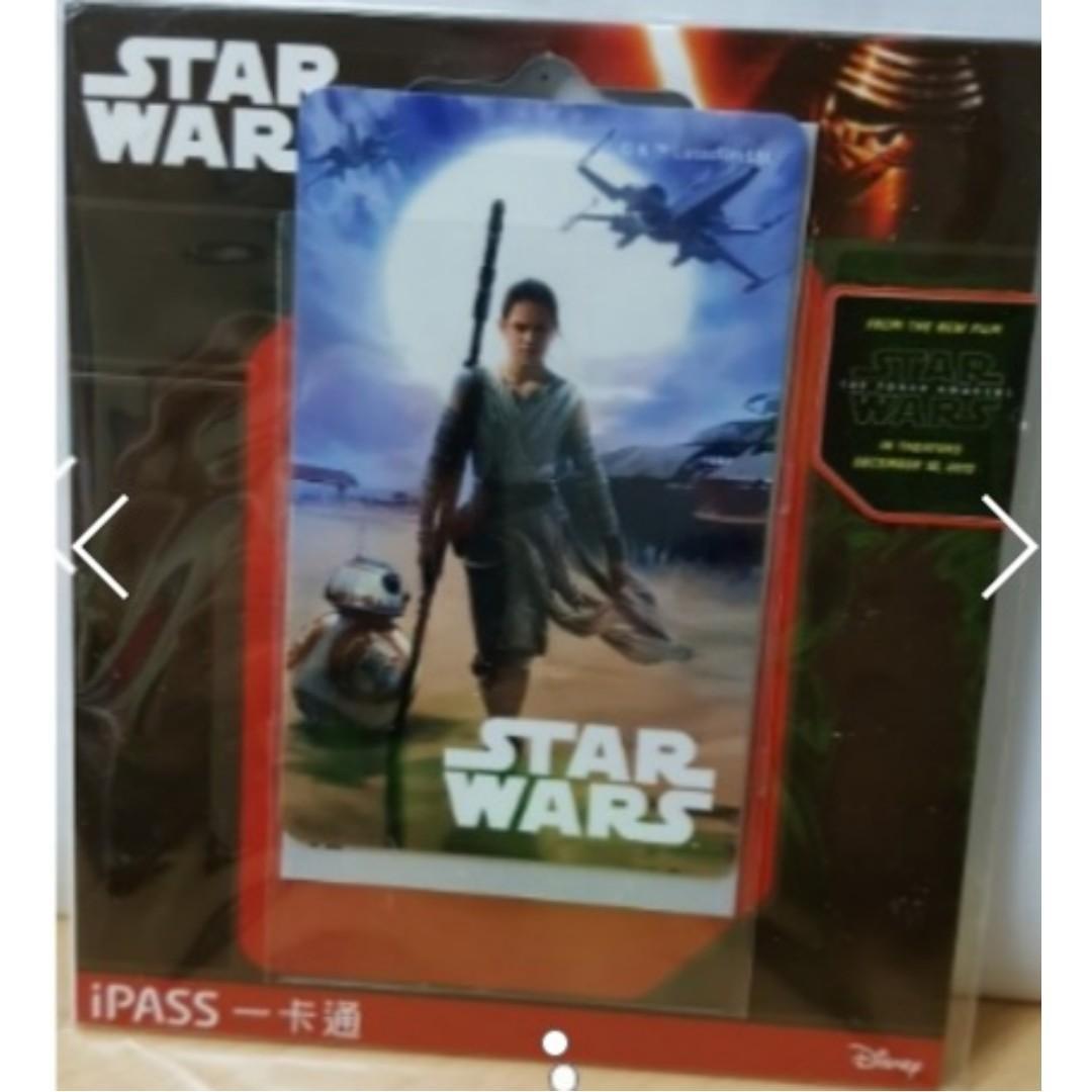 全新 台灣 STAR WARS 星球大戰 IPASS 一卡通 悠遊卡