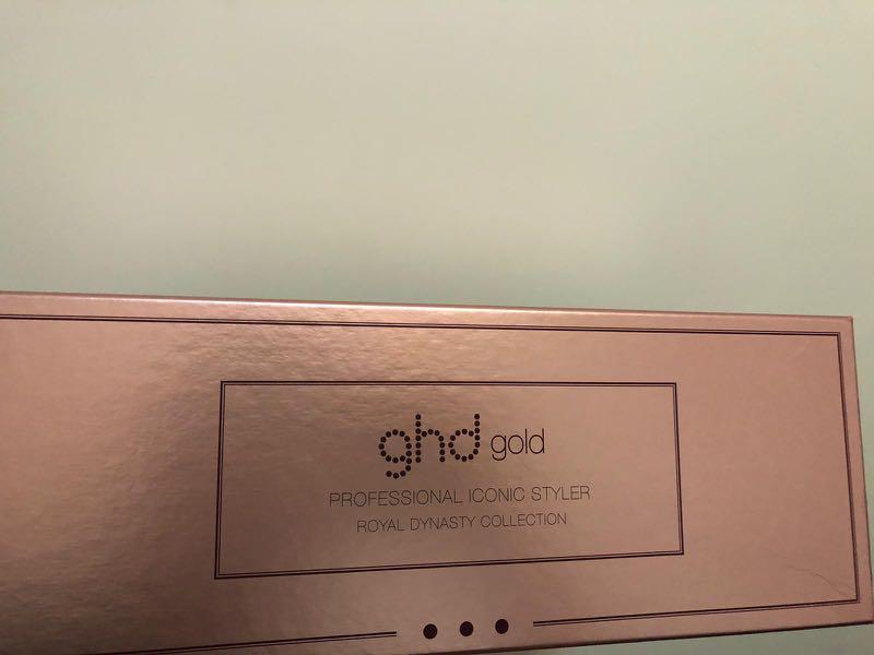 全新未用過 GHD Gold 直髮夾