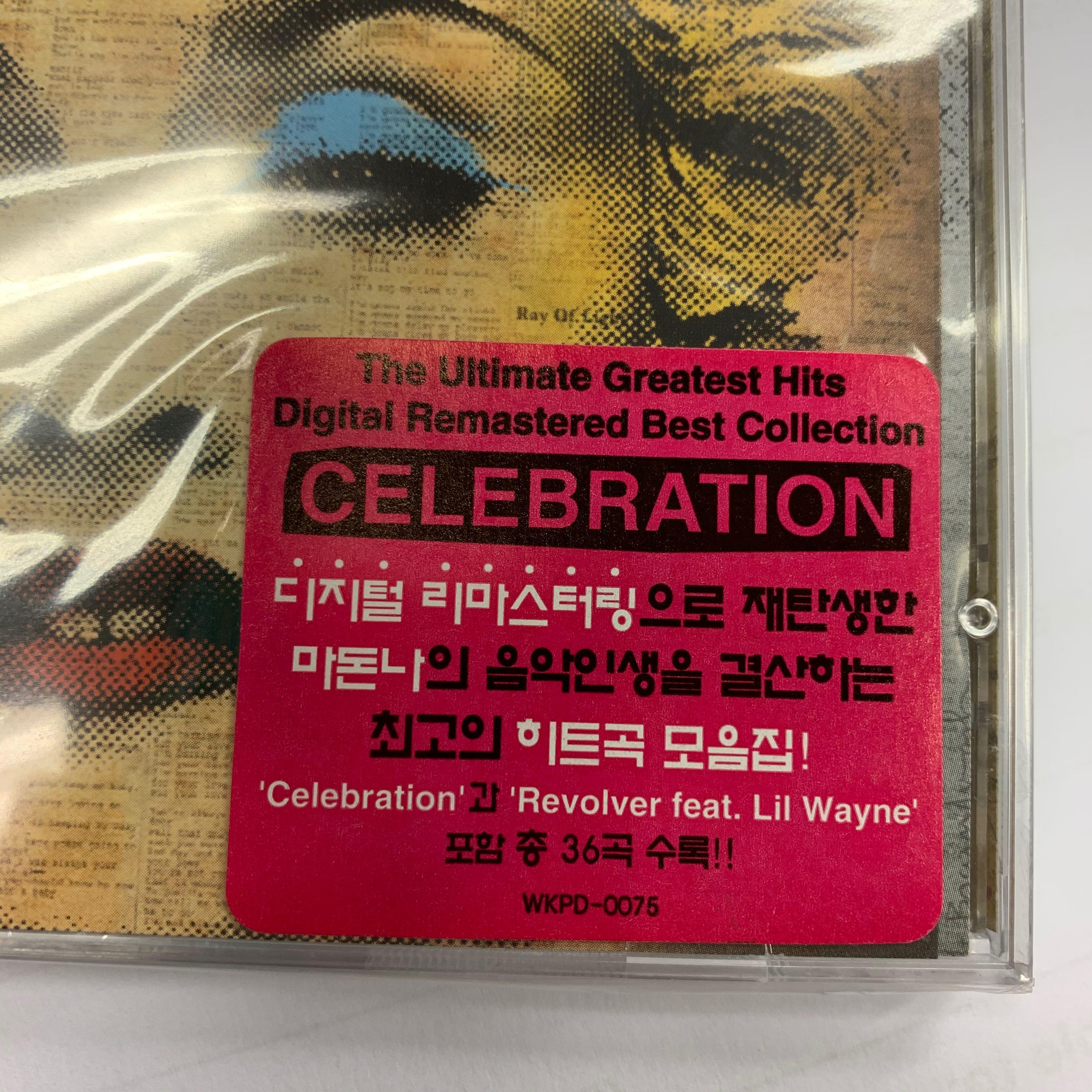 韓國版 Madonna  celebration 全新