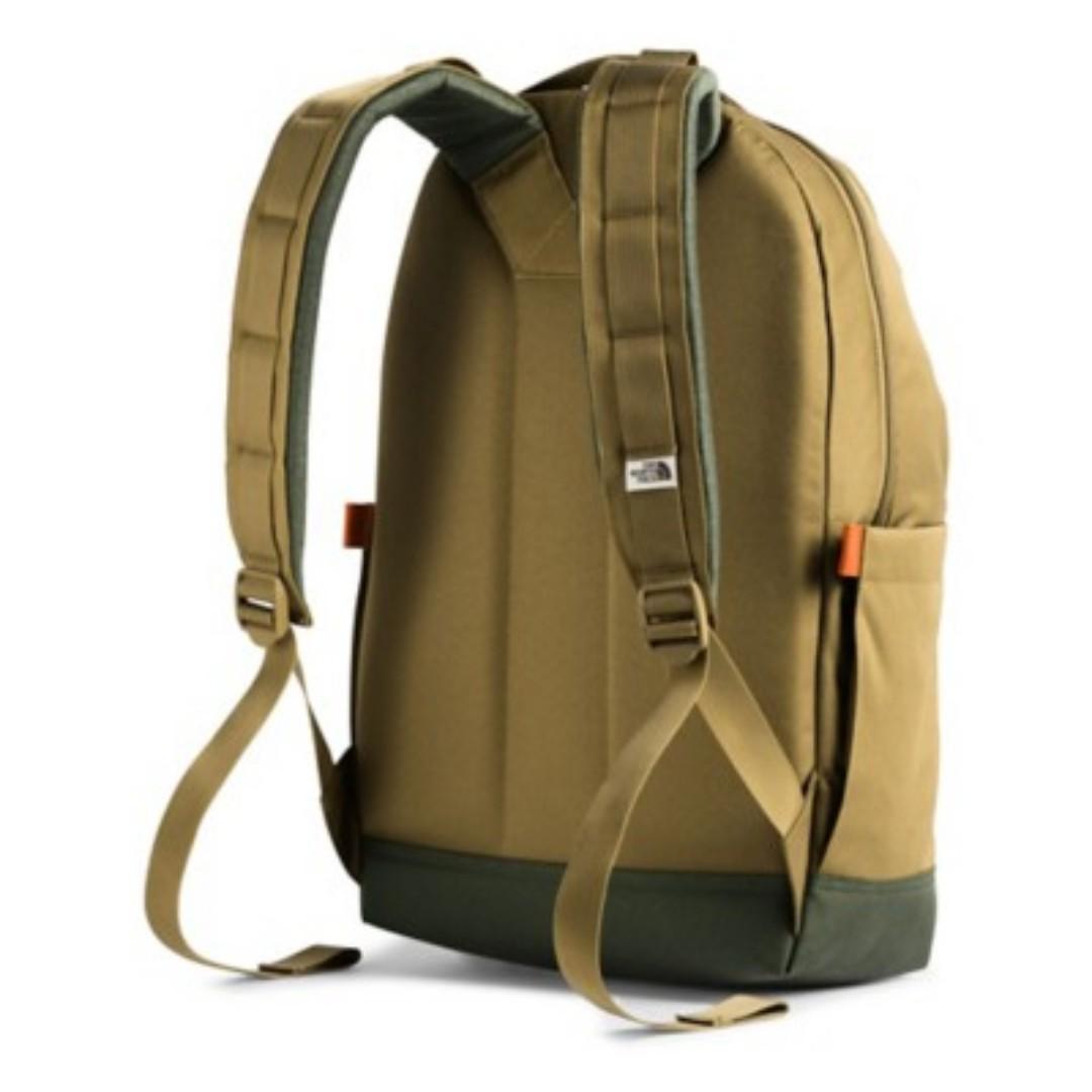 日本 The North Face 軍綠色牛津布 Day Pack 22L 復古 背囊