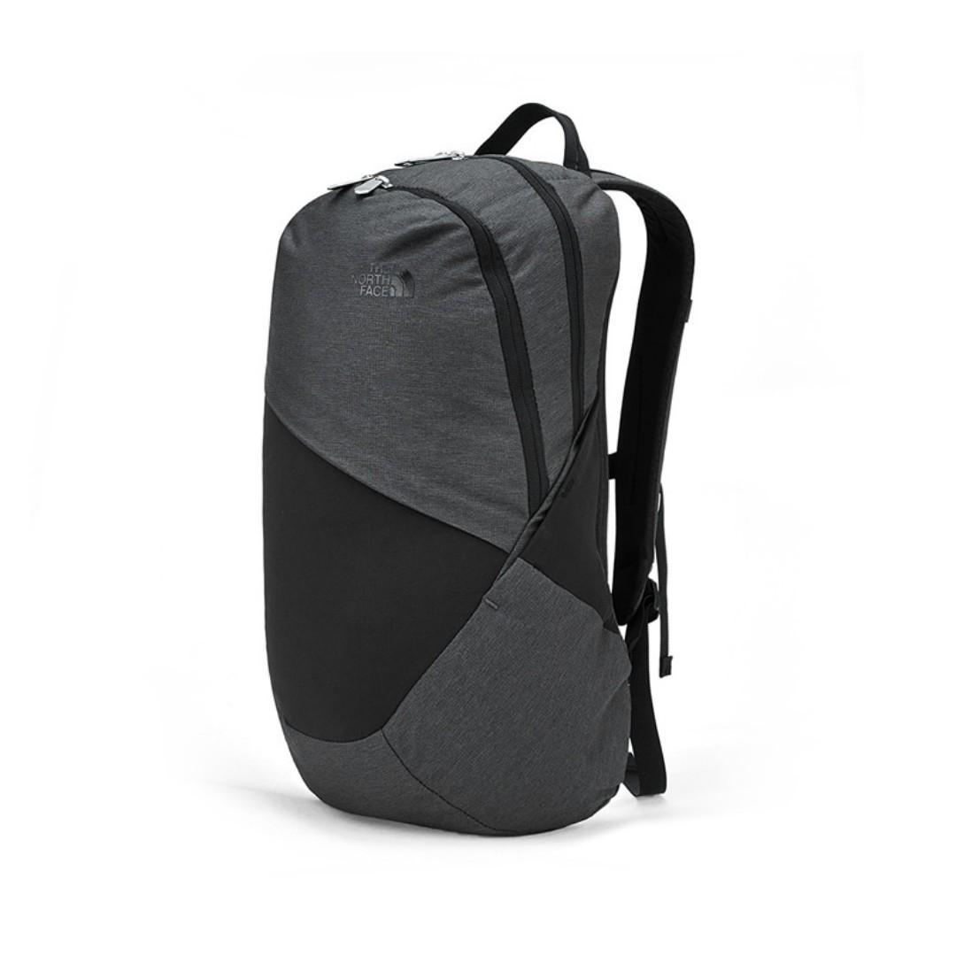 日本 The North Face 灰黑色牛津布 ISABELLA 21L 手提電腦 背囊