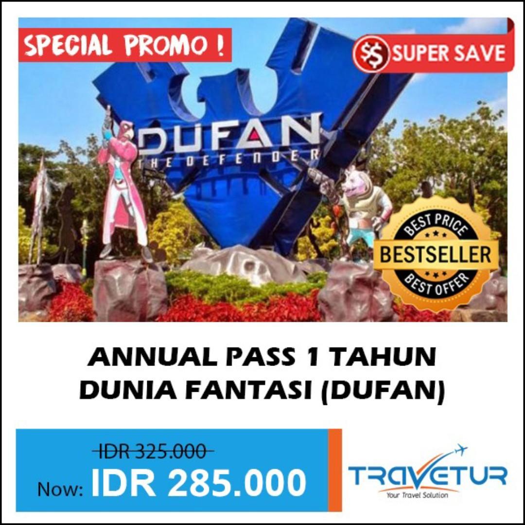 Annual Pass Dufan 1 Tahun