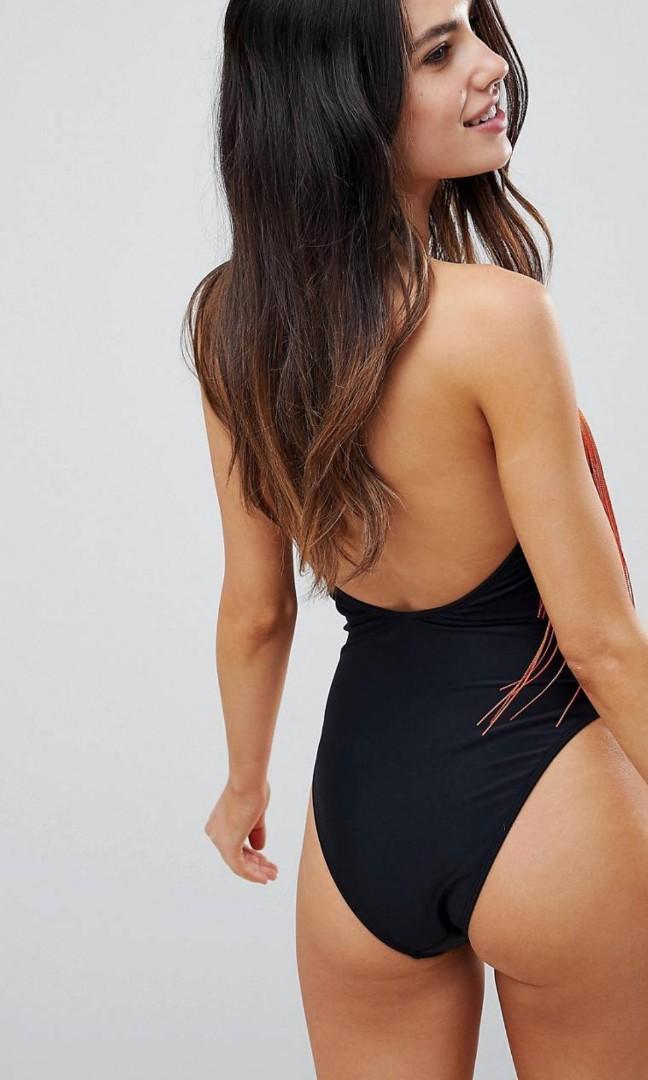 Asos one piece bathing suit