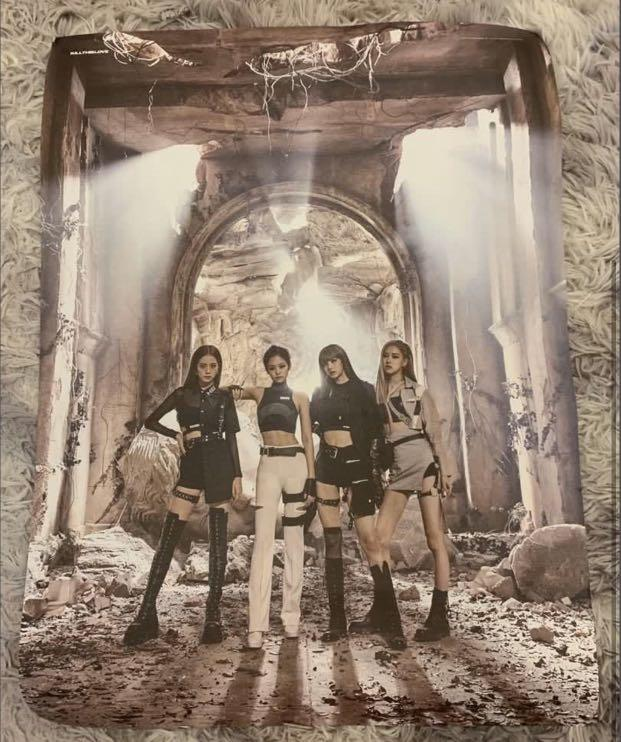 Blackpink kill this love poster