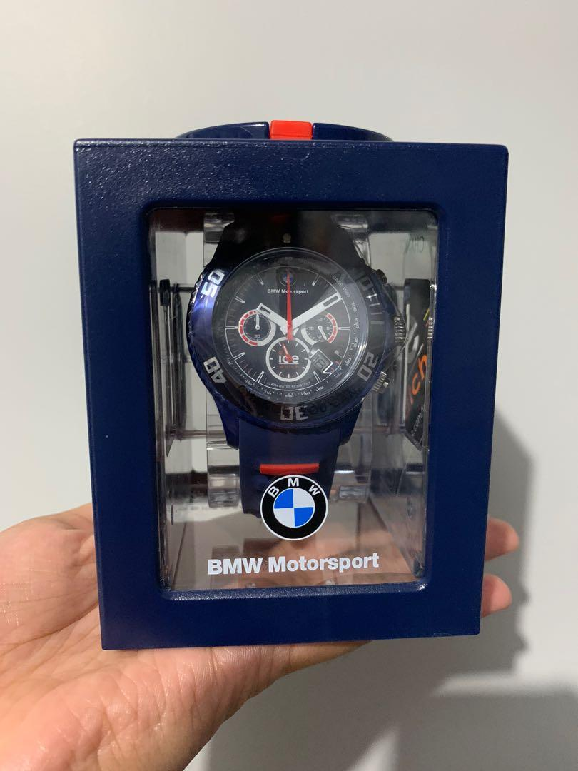 BMW Motorsport ICE chronograph watch limited edition