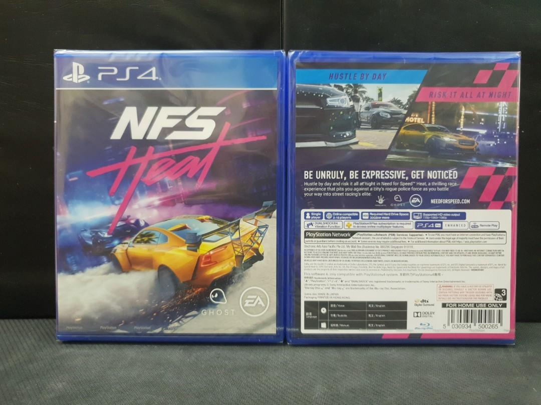 [BN] PS4 Need For Speed Heat (Brand New)