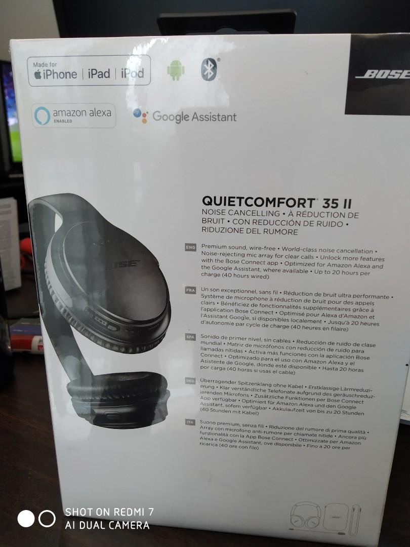 Bose QuietComfort 35 II (New and Sealed)