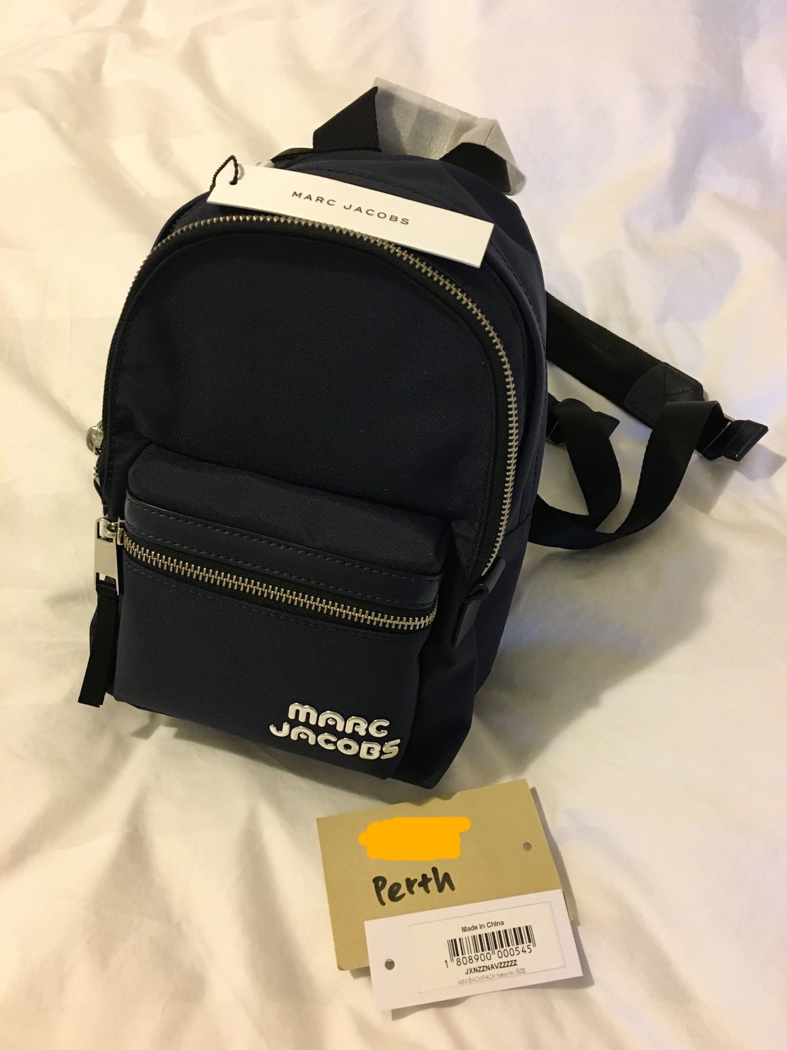Brand new with tags Marc Jacob nylon mini backpack