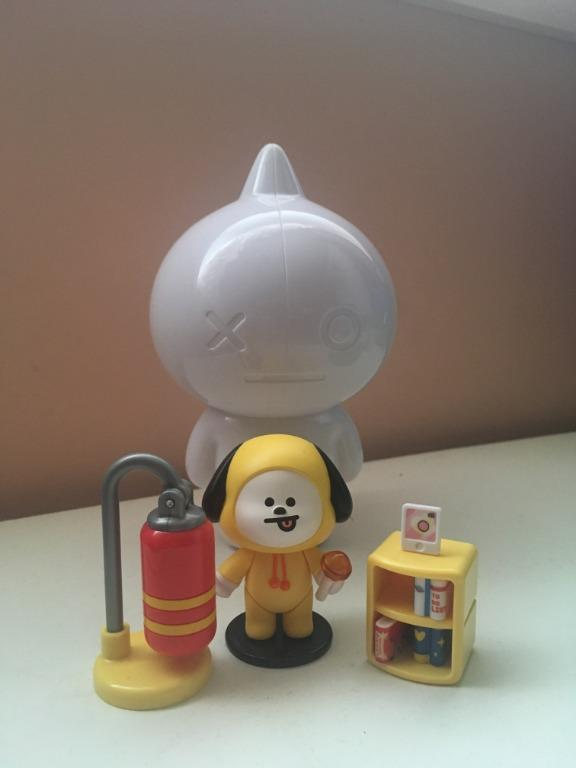 BTS BT21 Official Collectible Figure Blind Pack Vol. 1 (Basecamp Theme)- Chimmy Ver.
