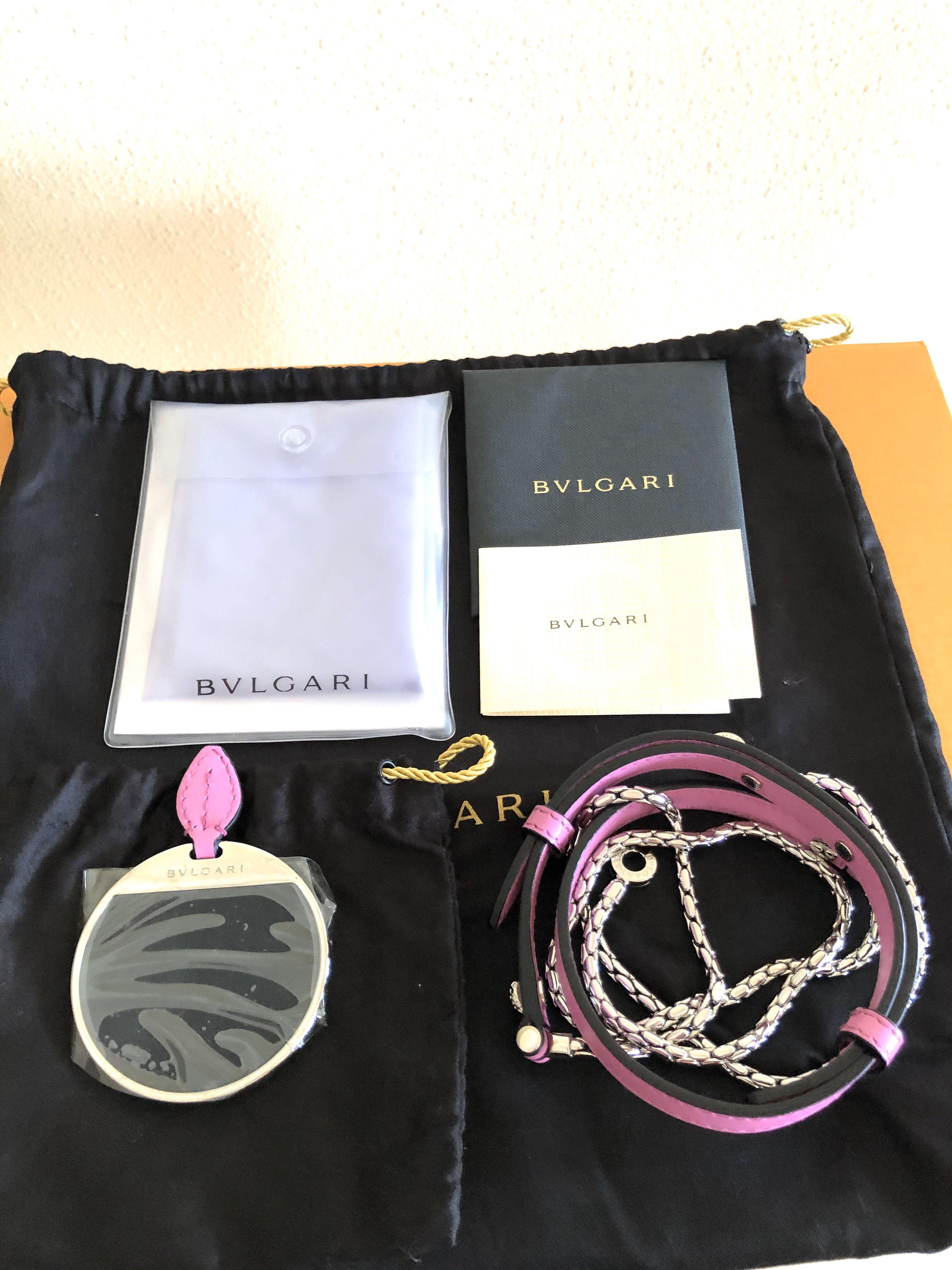 Bulgari (Bvlgari) Serpenti Forever Flap Cover Bag with Detachable Snake Chain! Cult Classic!