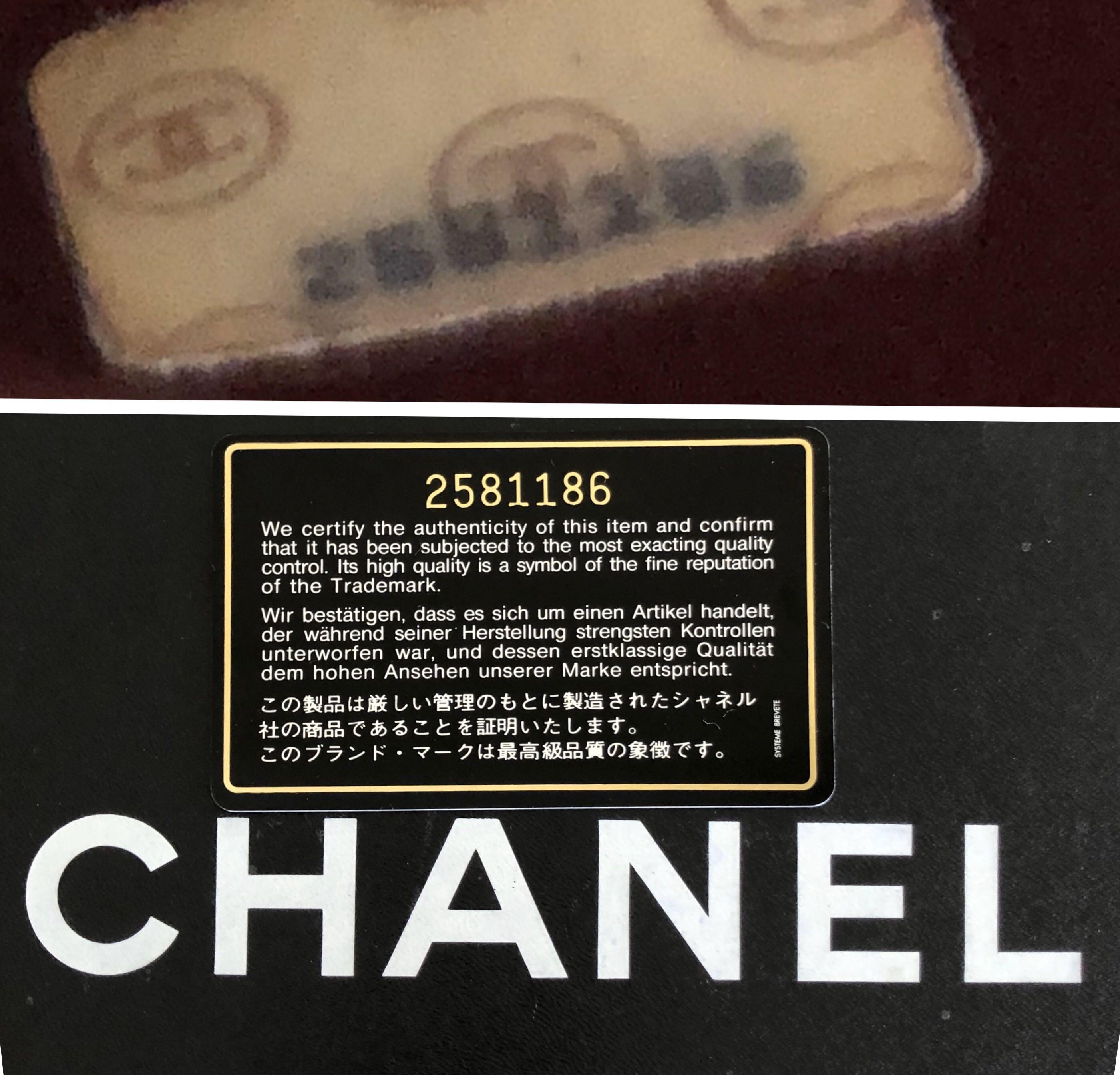 Chanel Vintage Small Flap in Lambskin with Gold Hardware!