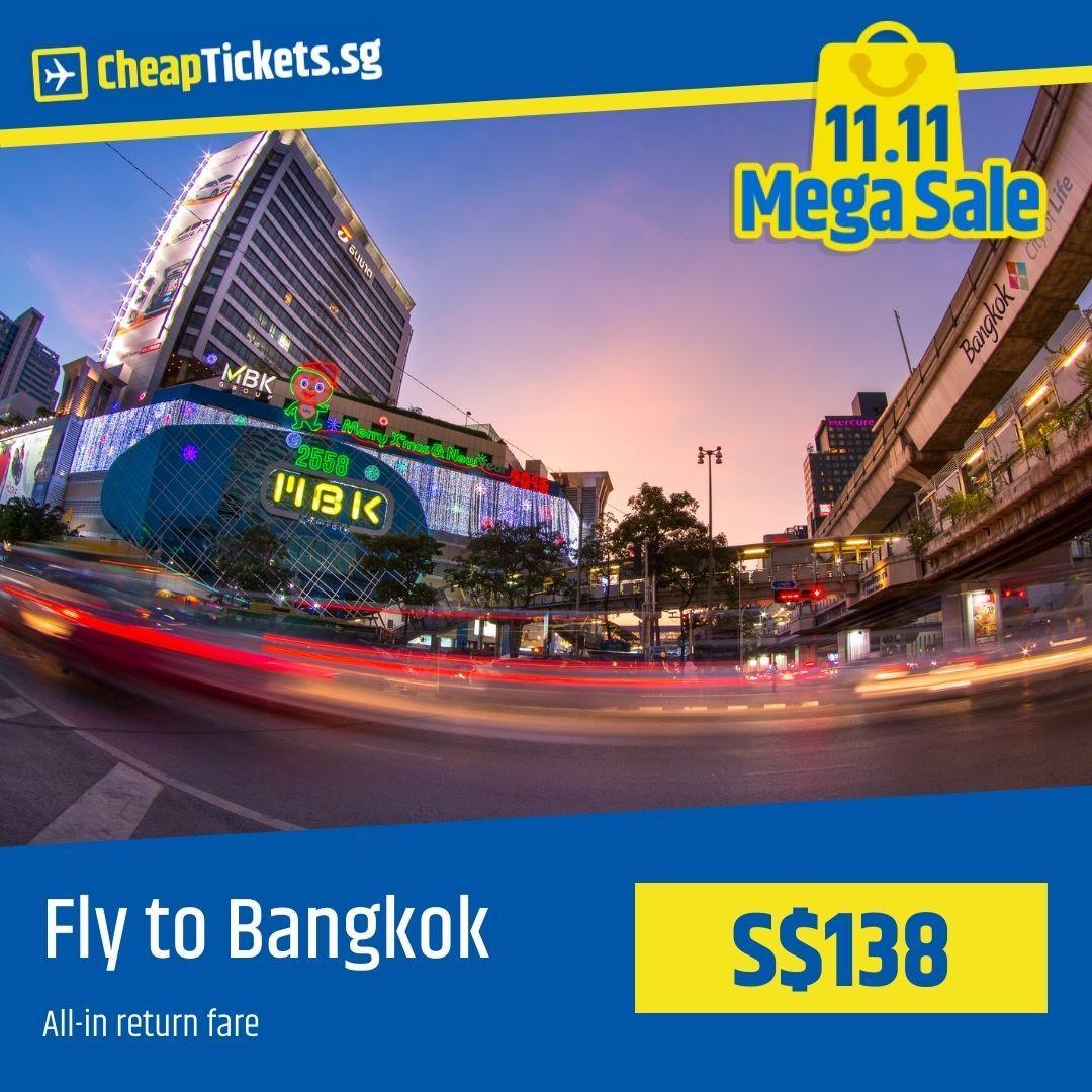 Cheap Flight to Bangkok
