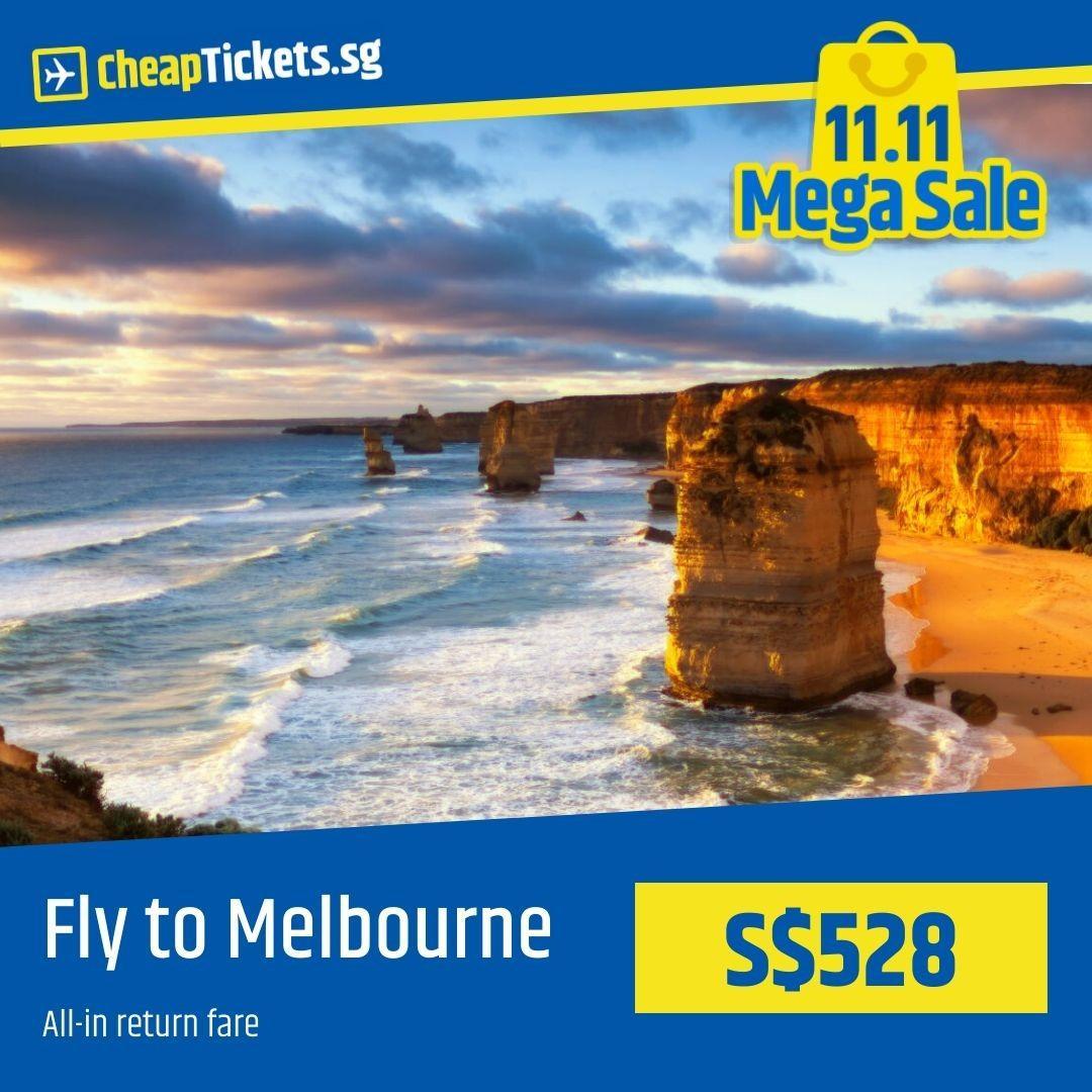 Cheap Flight to Melbourne