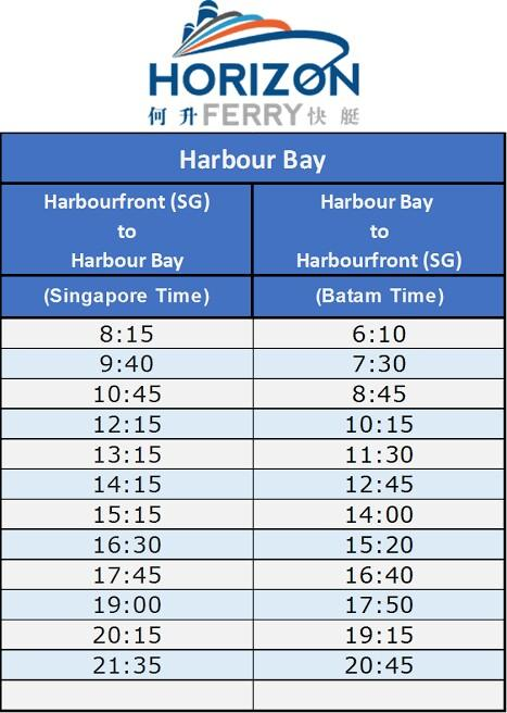 cheapers eticket horizon ferry