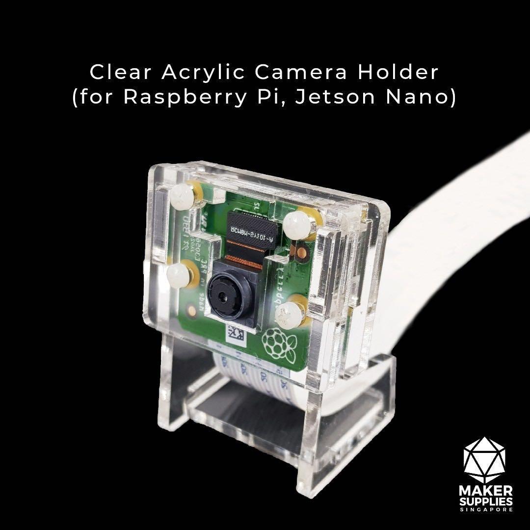 2x Raspberry Pi Transparent Clear Acrylic Case Shell Enclosure Computer Box kits