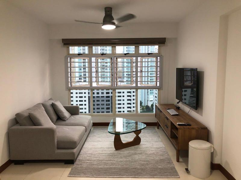 Common room next to Tiong Bahru MRT for rent