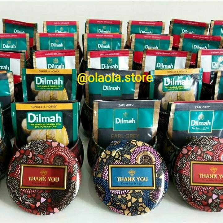 Dilmah Teas in a Moroccan Canned
