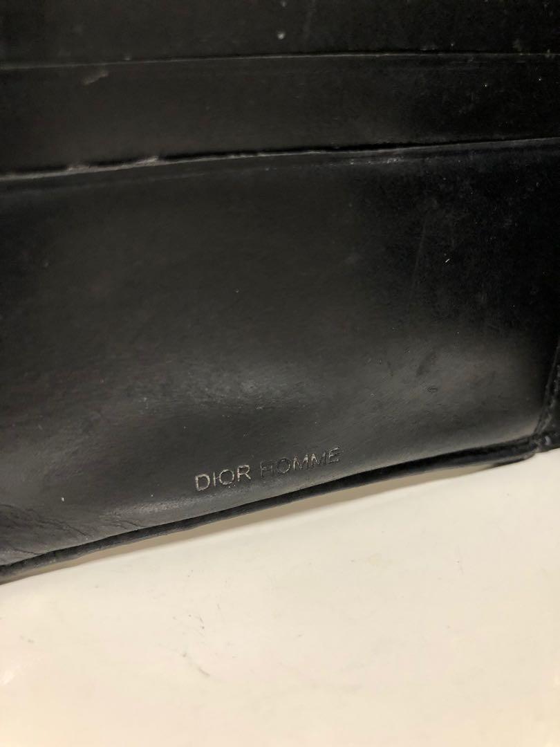 🥳店主生日週優惠- Dior Homme 型格漆皮銀包