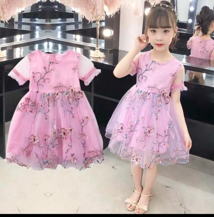 Dress Anak import premium