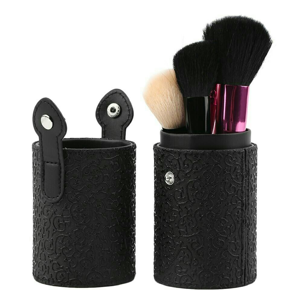 Elegant Black Colour Makeup Cosmetic Empty Container