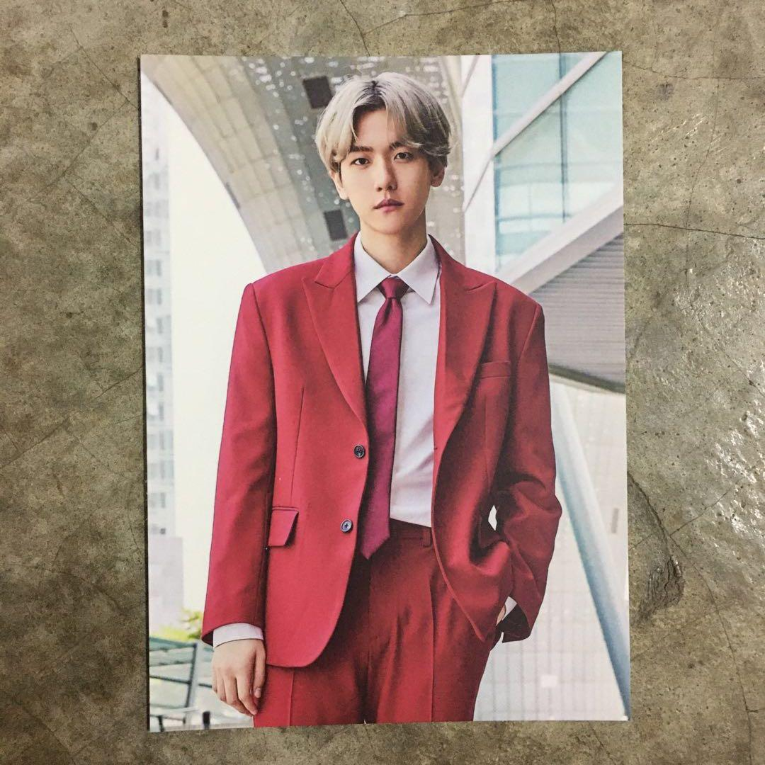 EXO EXPLORATION GOODS- BAEKHYUN LOOSE POSTCARD SET