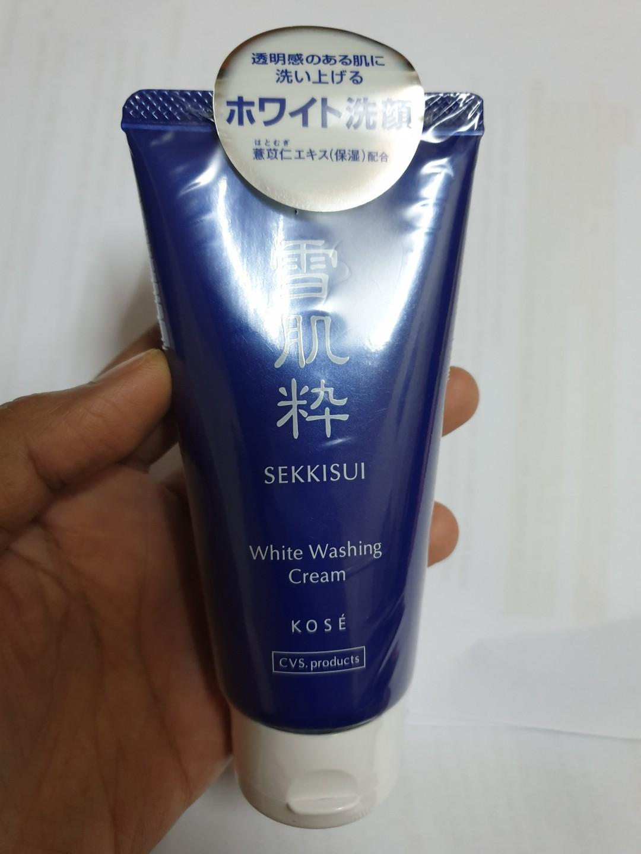 [FREE POSTAGE] sekkisui white washing cream