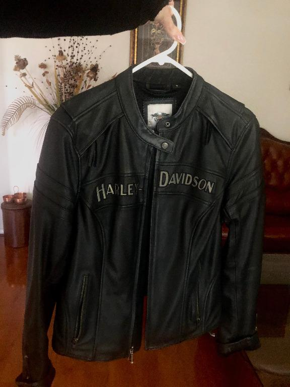 Harley-Davidson Women's Miss Enthusiast Riding Leather Jacket