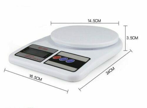 High Precision Kitchen Digital Food Scale With LCD Display