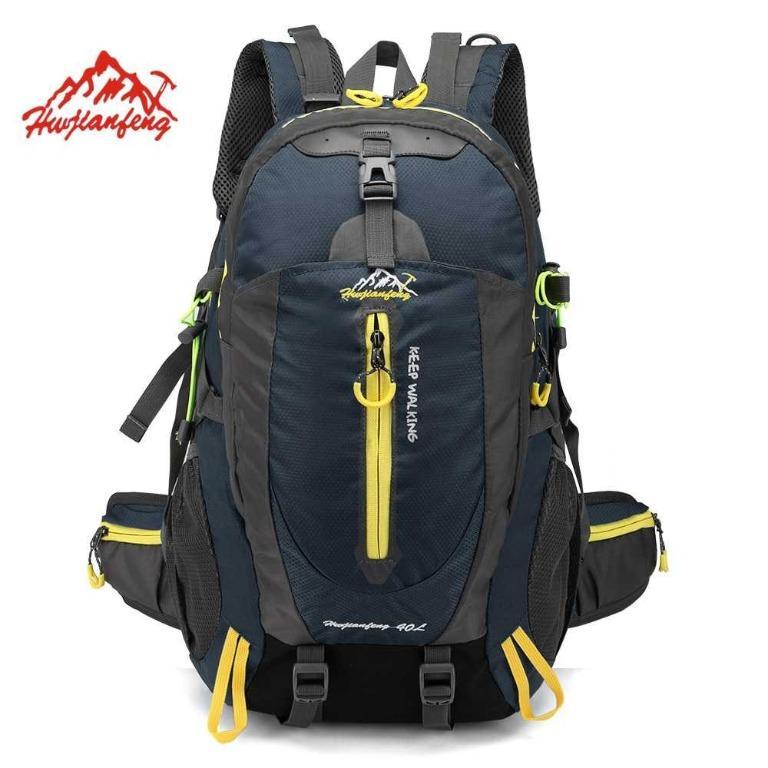 HUWAIJIANFENG Tas Gunung Outdoor Adventure Water Resistant 40L - ST32 TItanGadget
