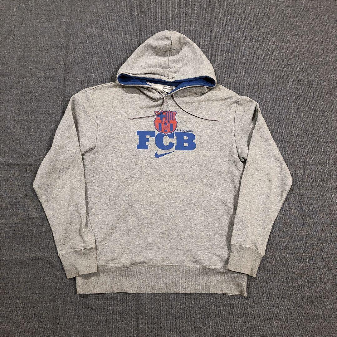 Ike FCB 古著灰色帽Tee (XL)