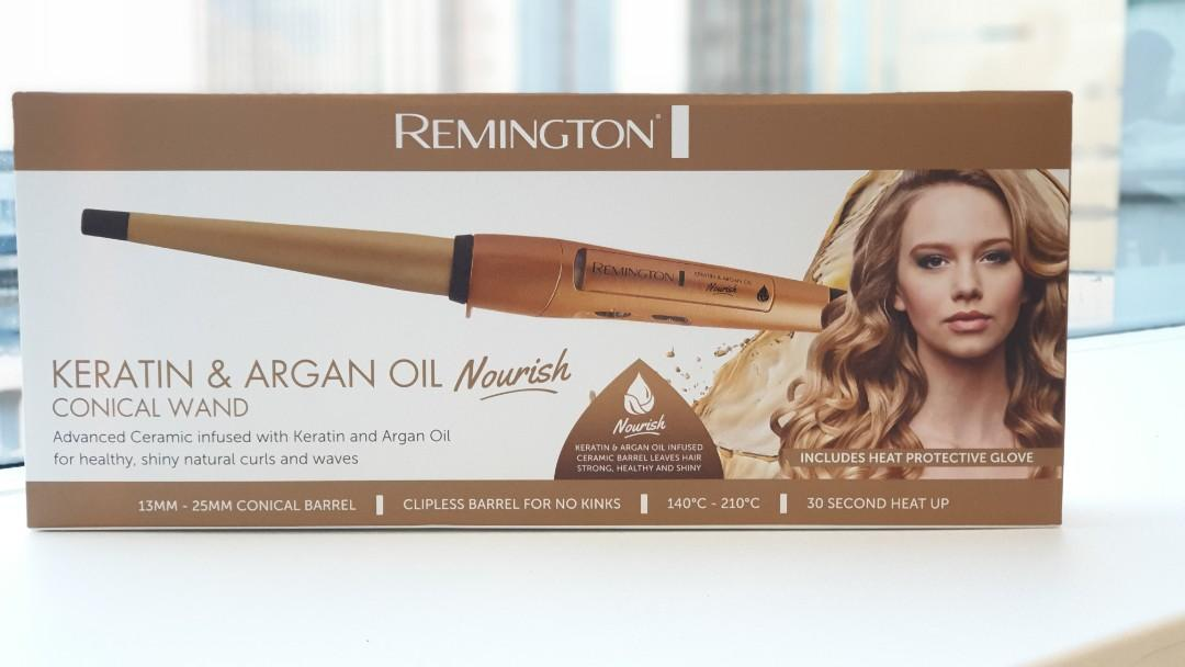 Keratin & Argan Oil Nourish - Conical Wand