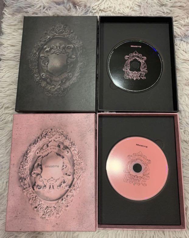 Kill this love Blackpink album official CD