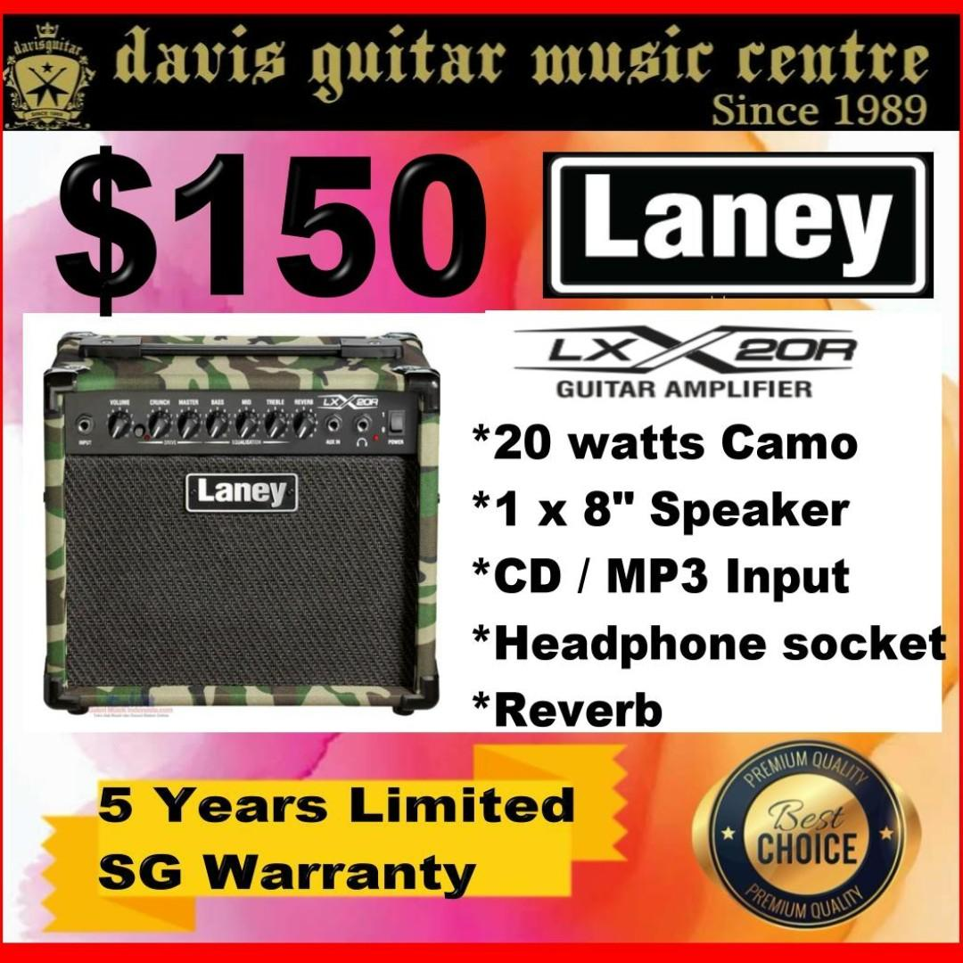 Laney LX20R Electric Amp Camo