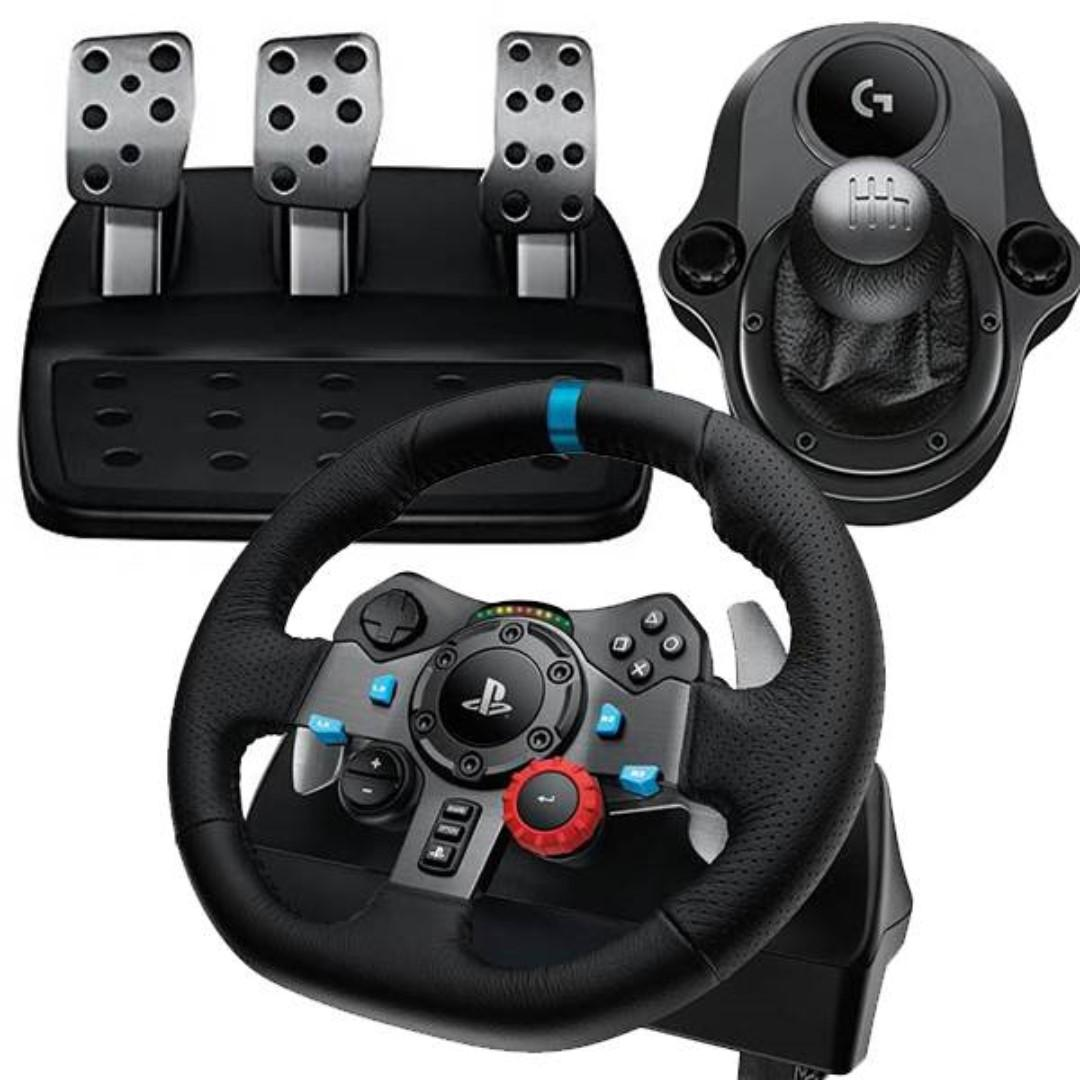 LOGITECH G29 Driving Force Racing Wheel for PS4 | PS3 | PC