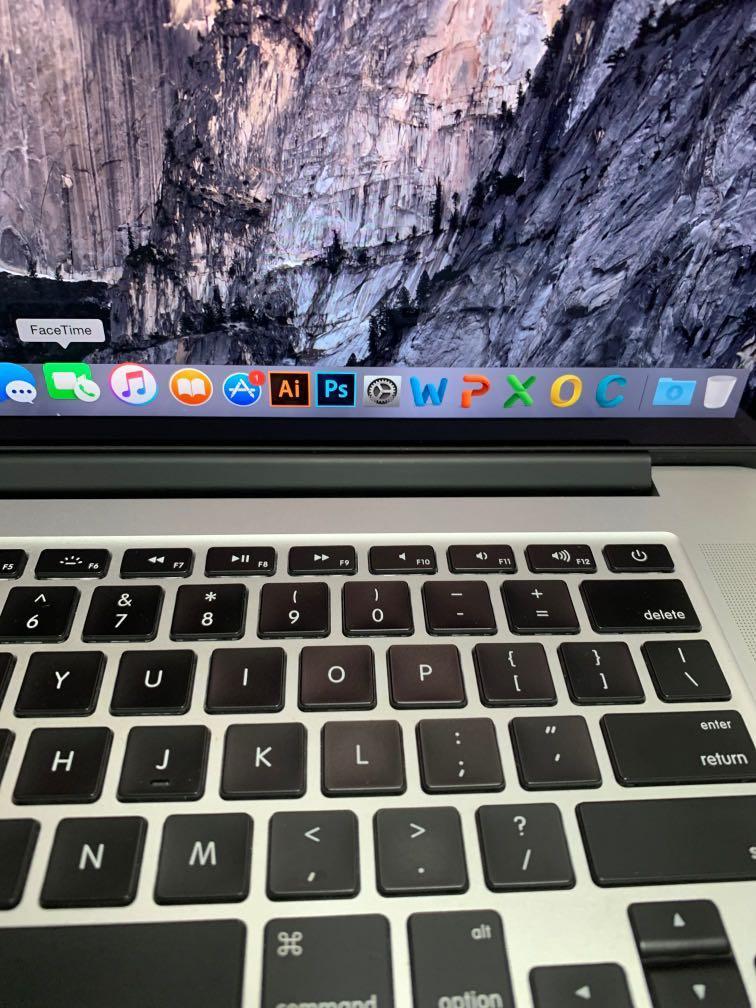 "MacBook Pro 15"" Retina Full Box 2015 model"