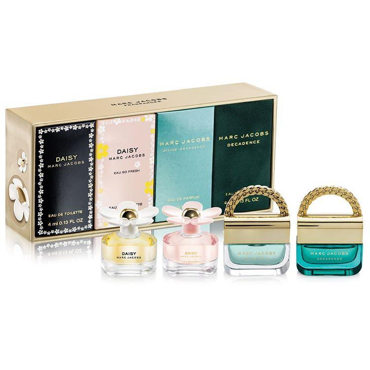 Marc Jacobs 4ml Miniatures Eau De Toilette Gift Set 香水 版仔