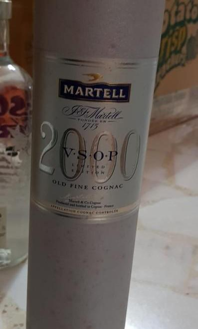 "Martell VSOP ""Year 2000"" collection Old Fine Cognac"
