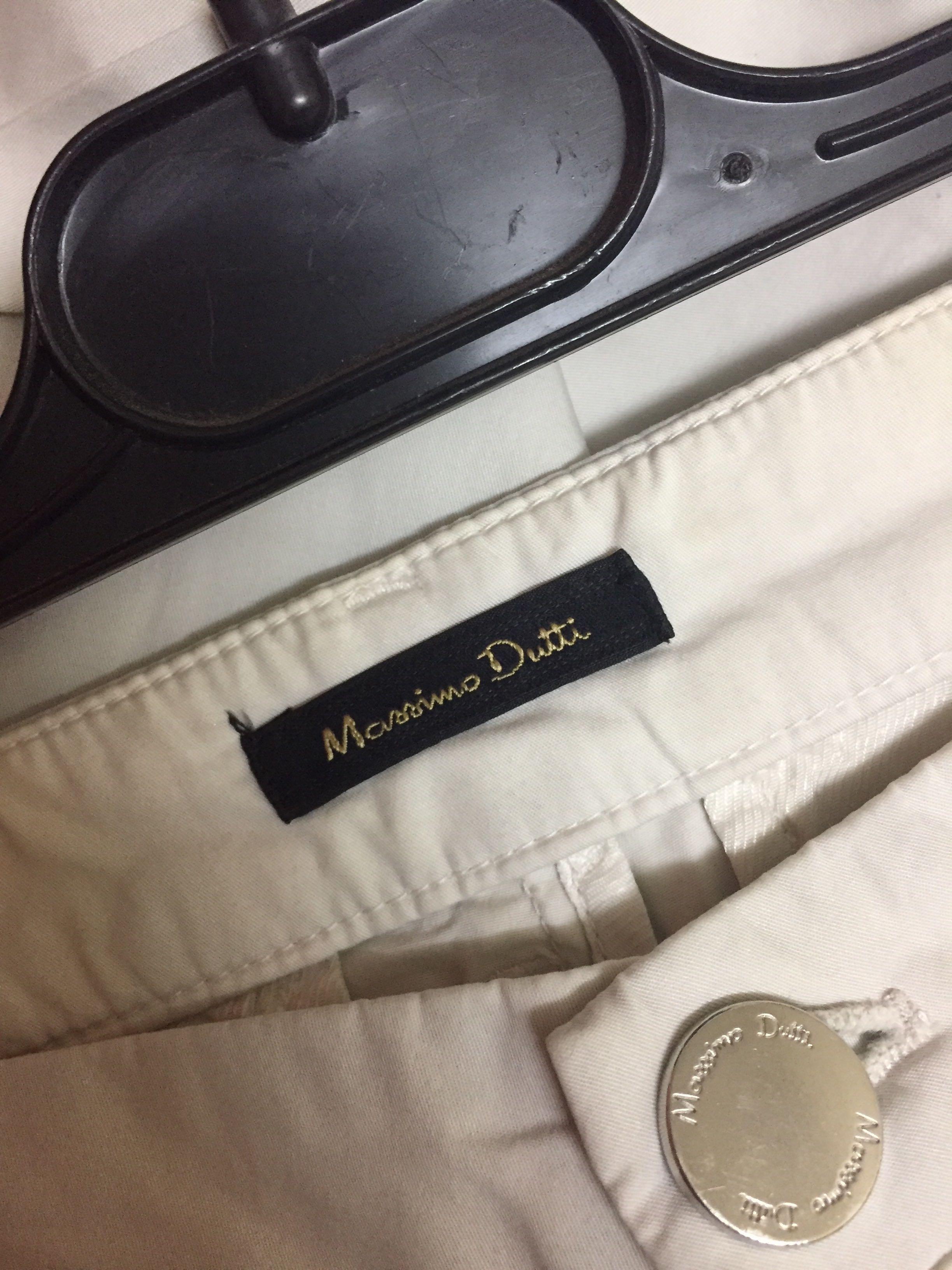 Massimo Dutti White Pants