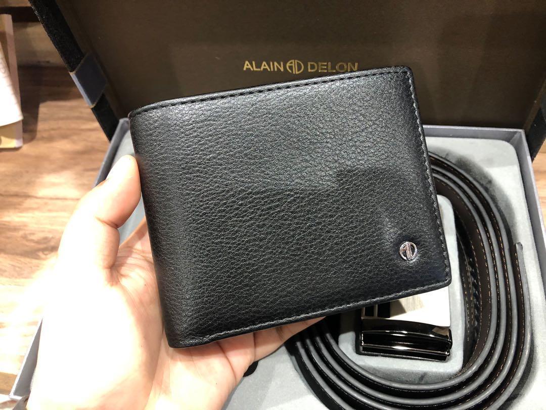 Men's Set Wallet and Belt
