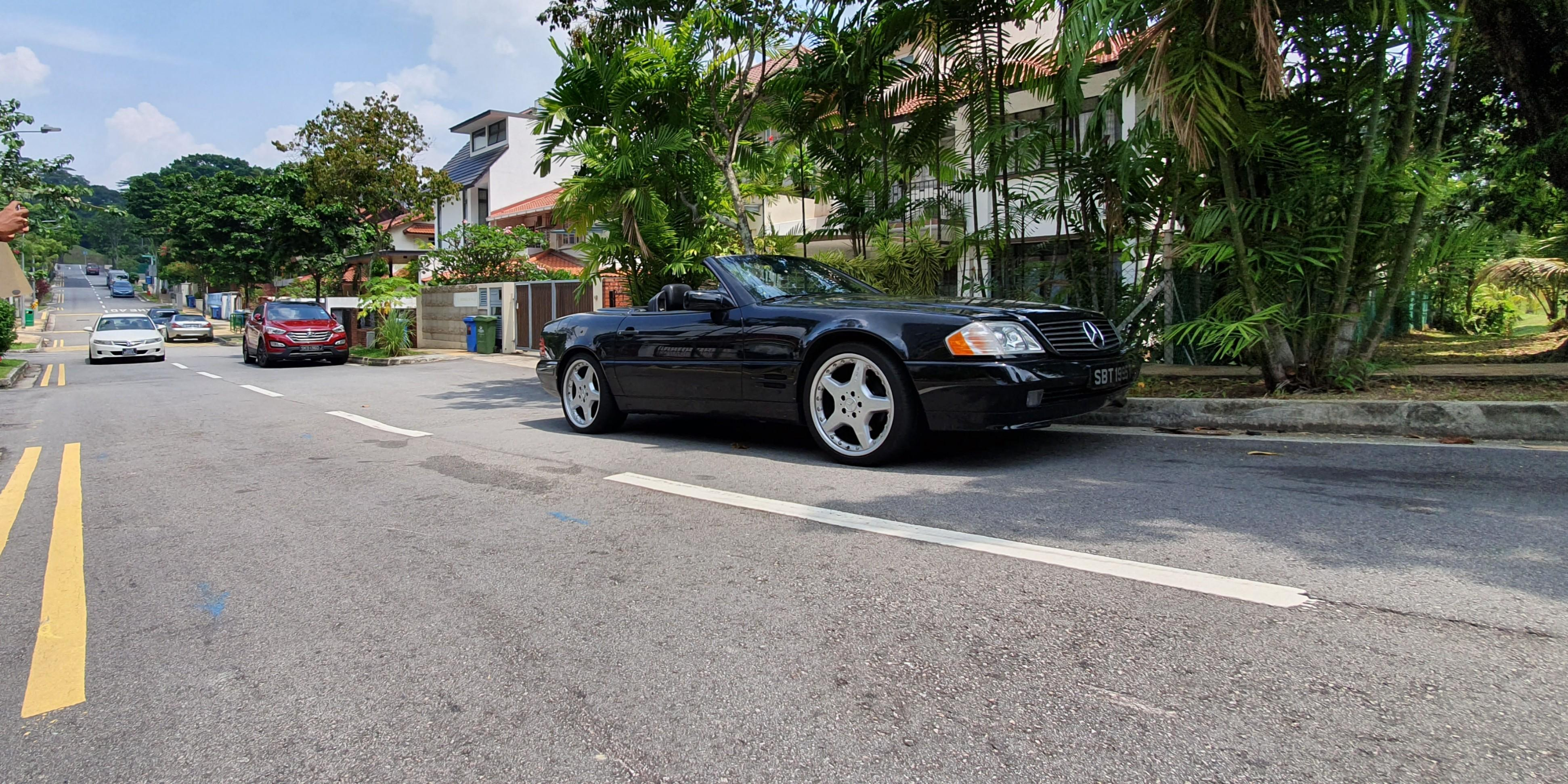 Mercedes-Benz SL300 (A)