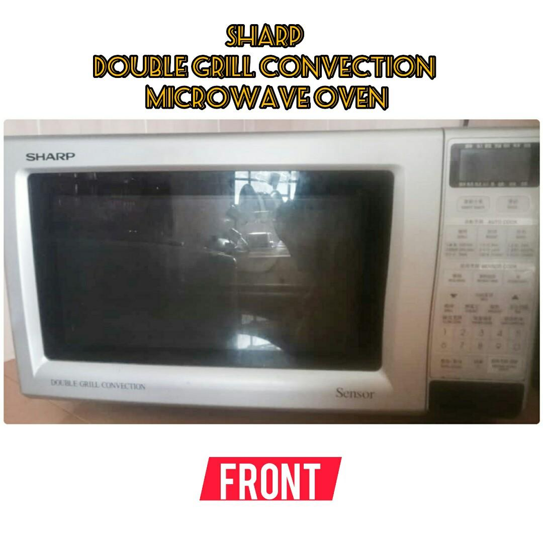 Double Grill Convection Microwave Oven