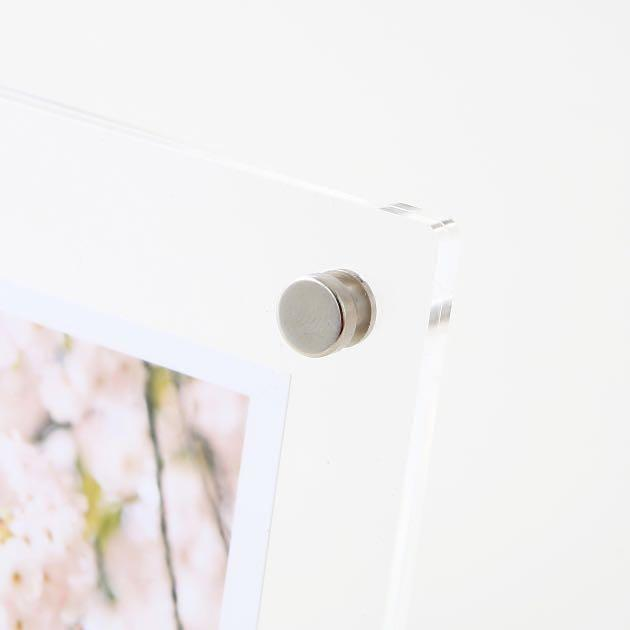 MUJI   Acrylic Photo Frame - Standing Type