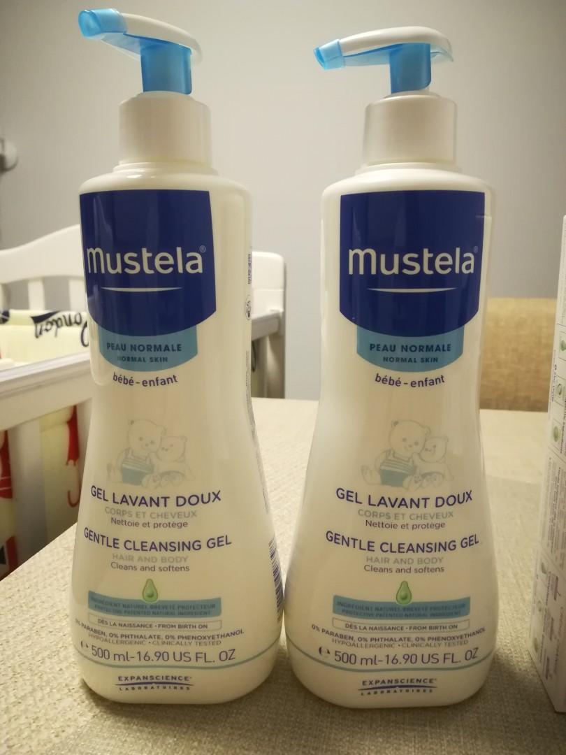 全新Mustela cleaning gel 500ml