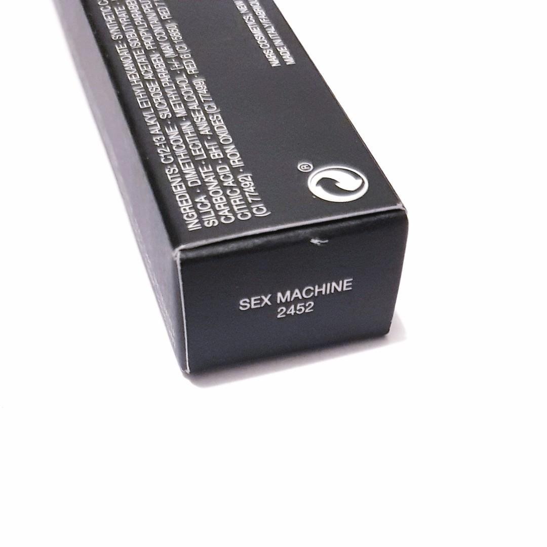 Nars Cosmetics Velvet Matte Sec Machine Lip Liner Colour Crayon Pencil